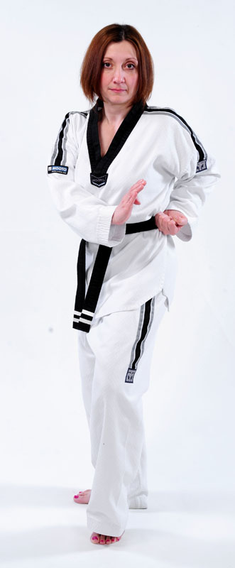 2nd Dan Black Belt, Lisa Gibson