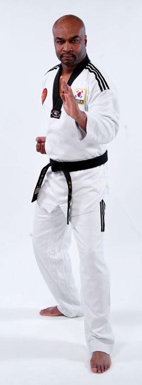 4th Dan Black Belt, Master Lionel Gibson