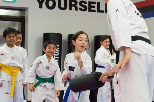 A photo look at an Orleans Taekwondo class
